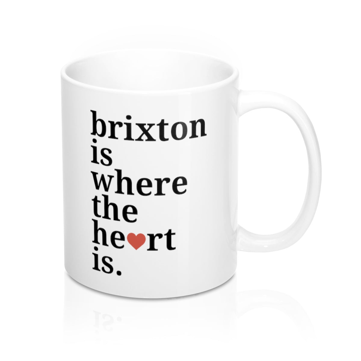 Brixton Is Where The Heart Is Mug