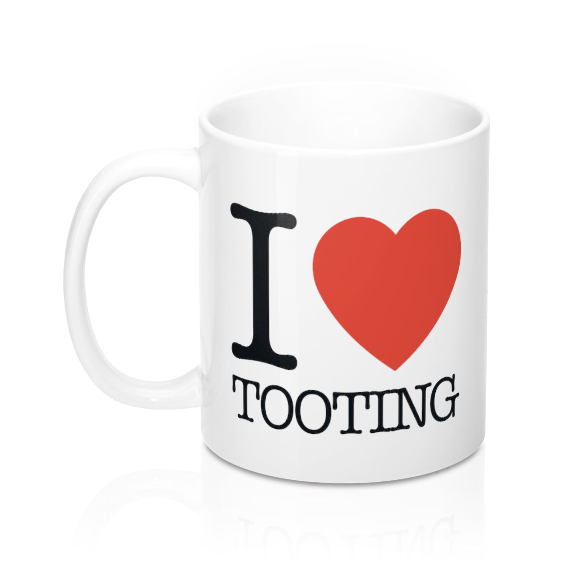 I Heart Tooting Mug