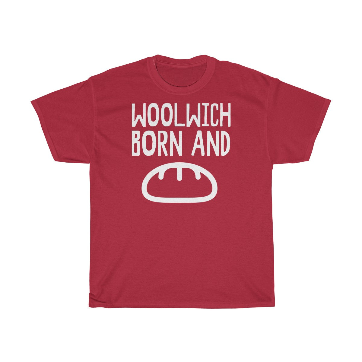 Woolwich Born and Bread Unisex T-Shirt