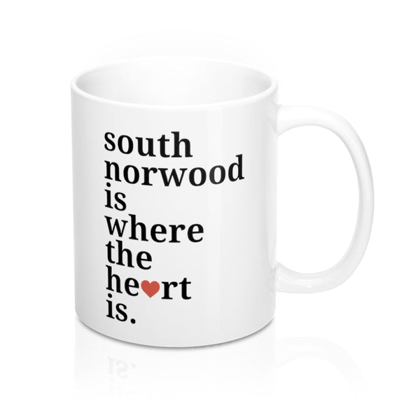 South Norwood is Where The Heart Is Mug