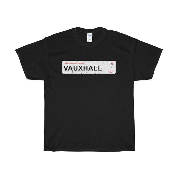 Vauxhall Road Sign SE11 T-Shirt