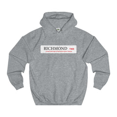 Richmond Road Sign TW9 Hoodie