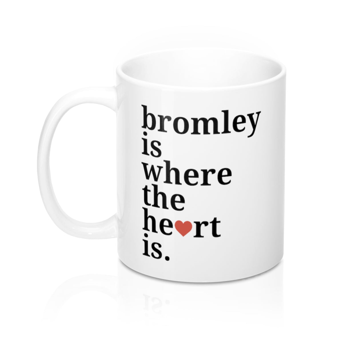 Bromley Is Where The Heart Is Mug