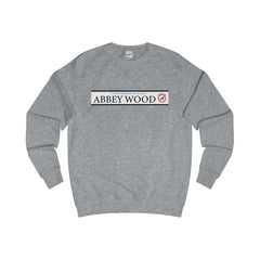 Abbey Wood Road Sign Sweater