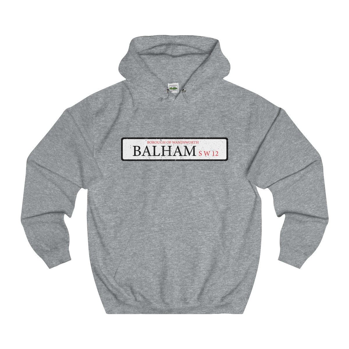 Balham Road Sign SW12 Hoodie