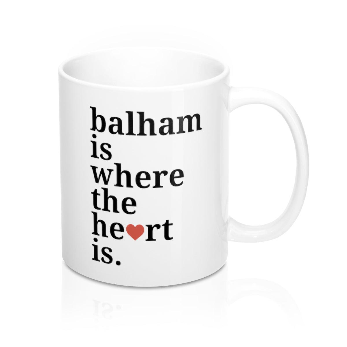 Balham Is Where The Heart Is Mug
