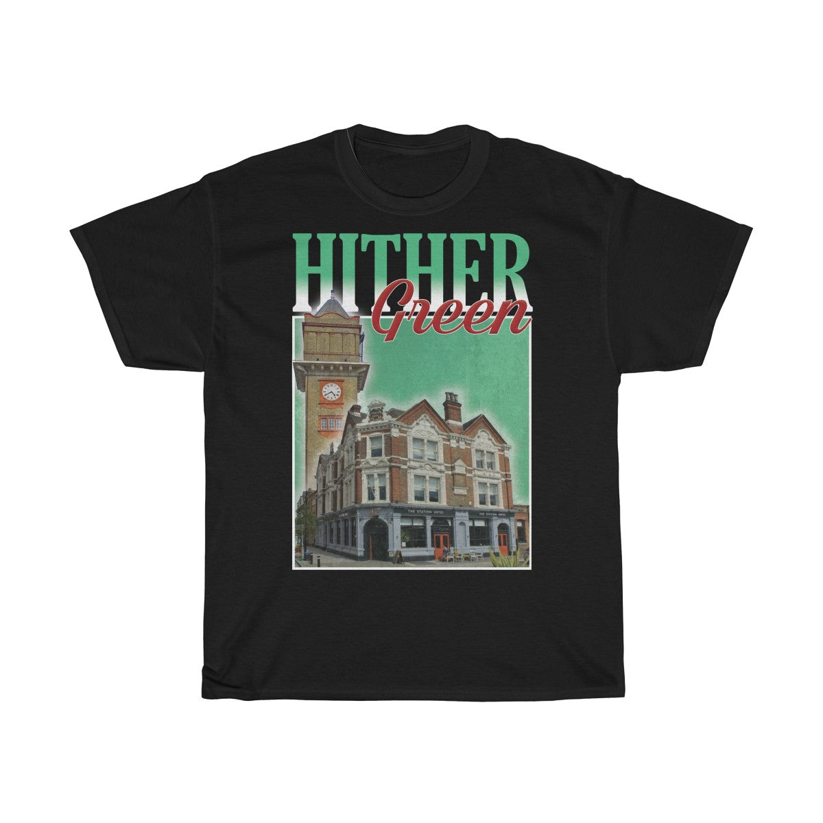 Hither Green 90s Style Unisex T-Shirt