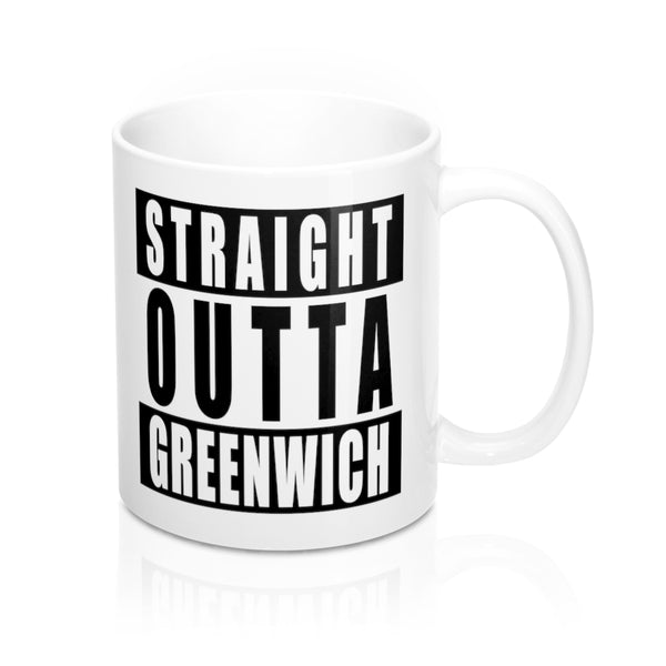 Straight Outta Greenwich Mug