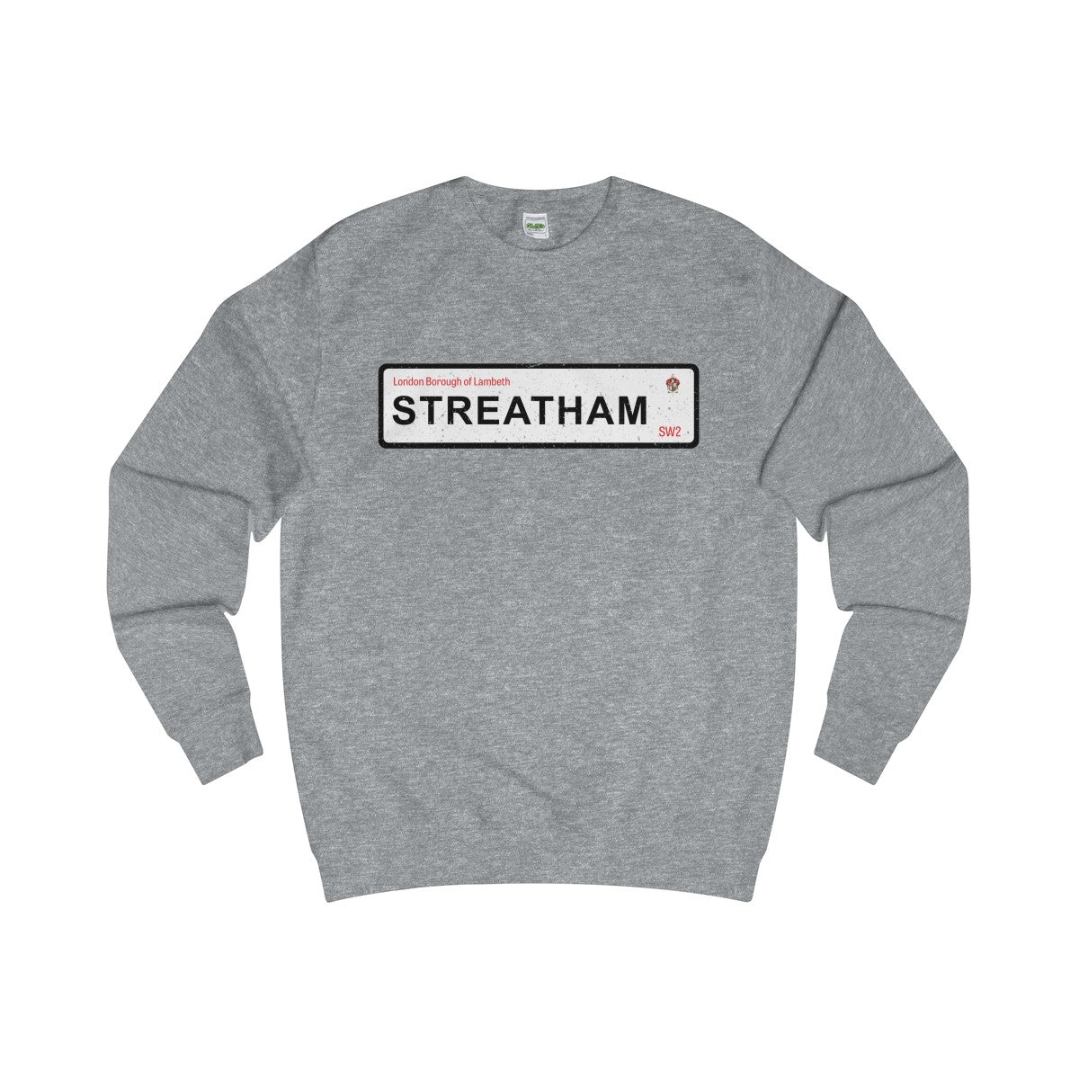 Streatham Road Sign SW2 Sweater