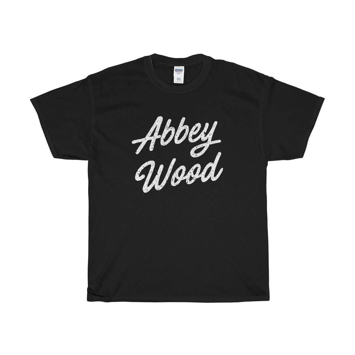 Abbey Wood Scripted T-Shirt