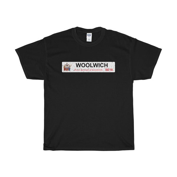 Woolwich Road Sign SE18 T-Shirt