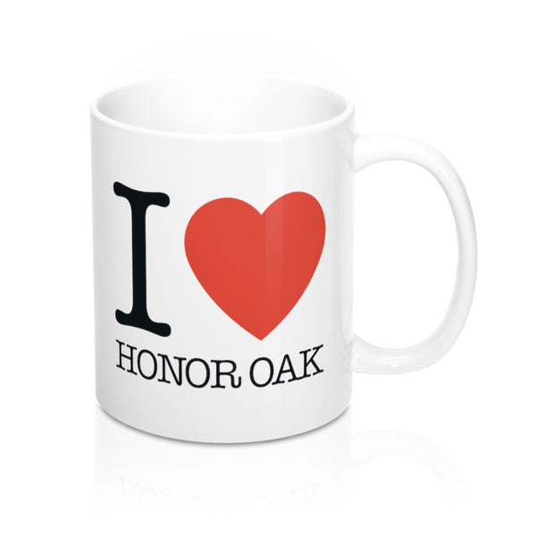 I Heart Honor Oak Mug