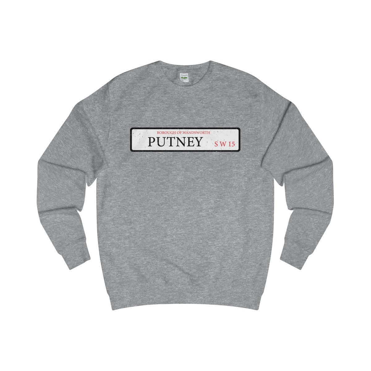 Putney Road Sign SW15 Sweater