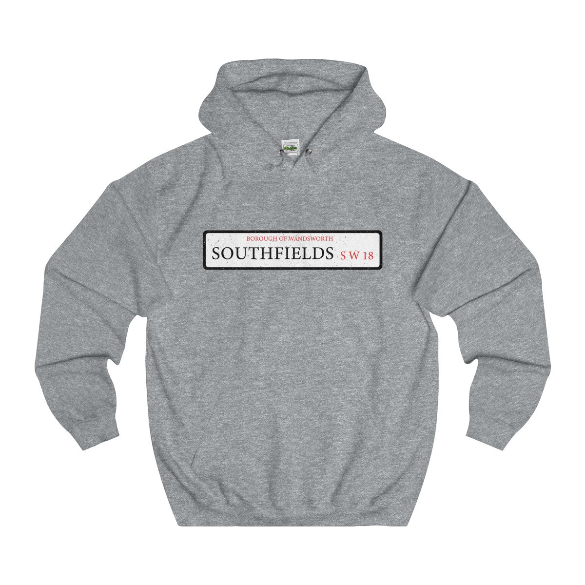Southfields Road Sign SW18 Hoodie