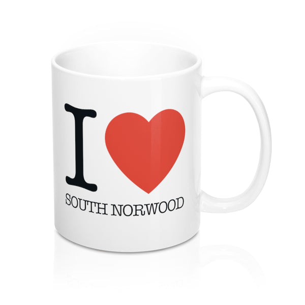 I Heart South Norwood Mug