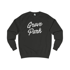 Grove Park Scripted Sweater