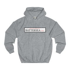 Battersea Road Sign SW8 Hoodie