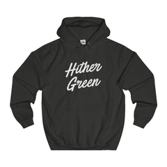 Hither Green Scripted Hoodie