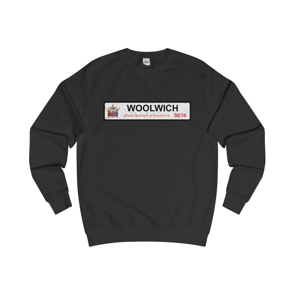 Woolwich Road Sign SE18 Sweater