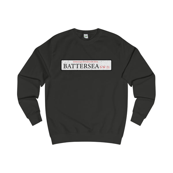 Battersea Road Sign SW11 Sweater