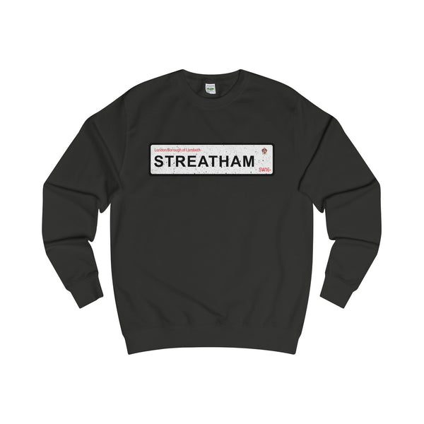 Streatham Road Sign SW16 Sweater