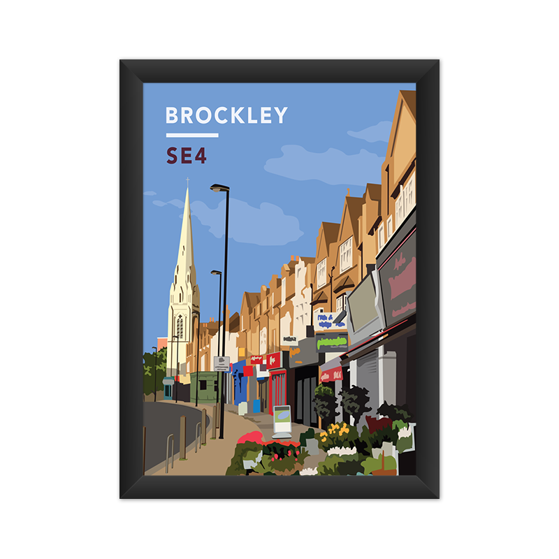 Brockley Road Parade SE4 - Giclée Art Print
