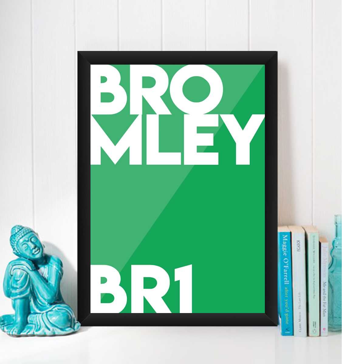Bromley Typography BR1 Giclée Art Print