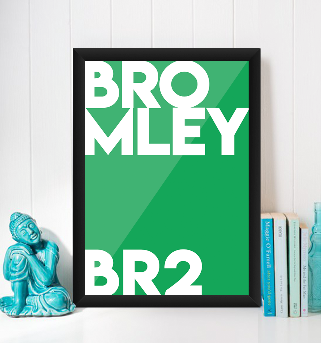 Bromley Typography BR2 Giclée Art Print