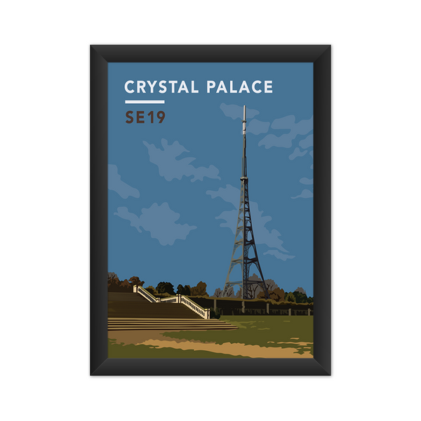 Crystal Palace Transmitting Station SE19 - Giclée Art Print