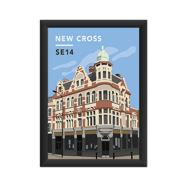 New Cross SE14 - Giclée Art Print