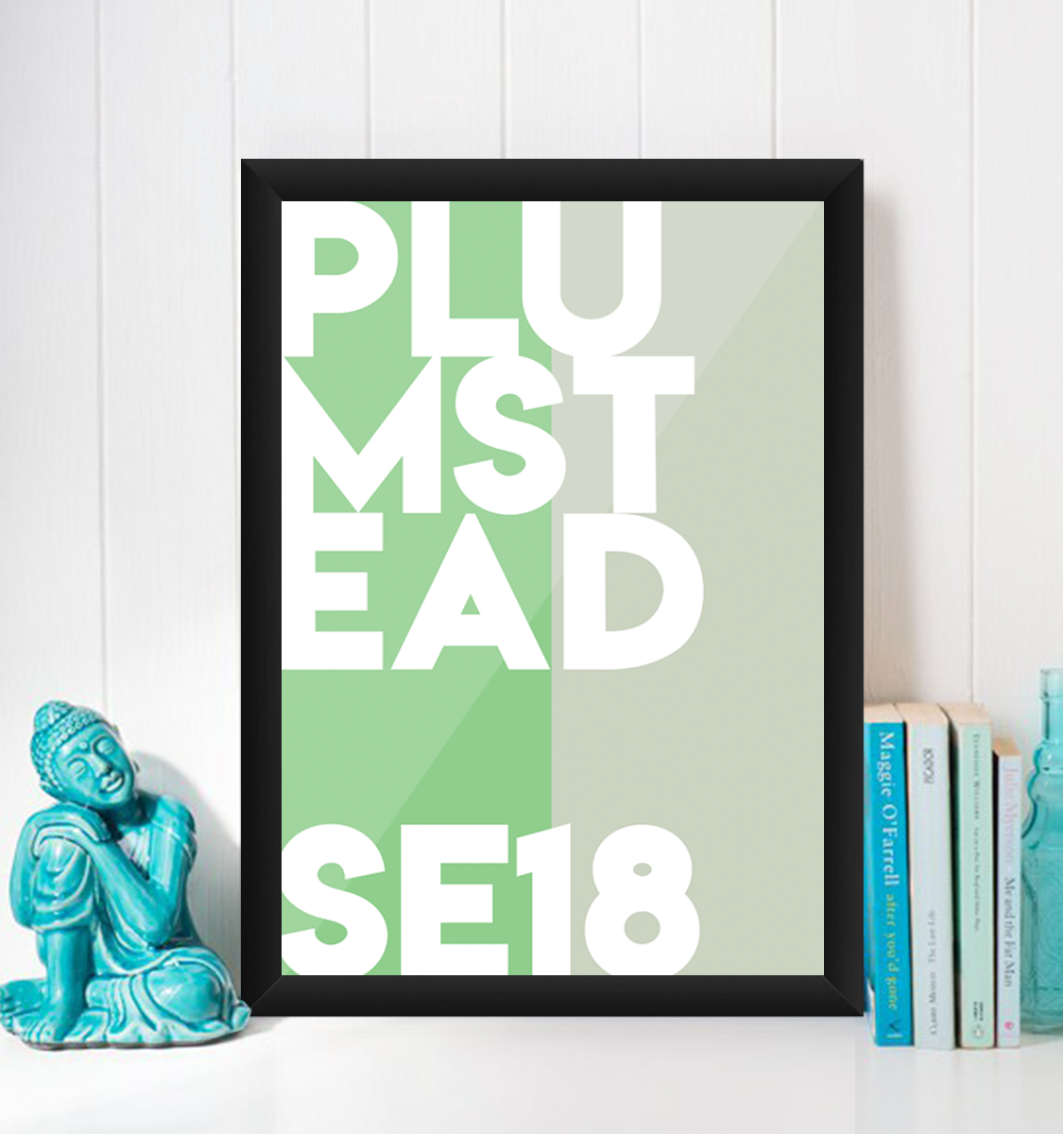 Plumstead Typography SE18 Giclée Art Print