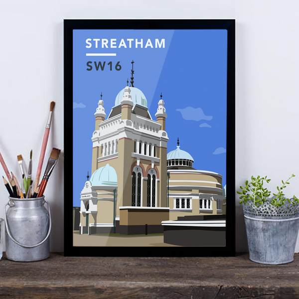 Streatham Common Pumping Station SW16 - Giclée Art Print