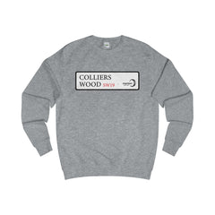 Colliers Wood Road Sign SW19 Sweater