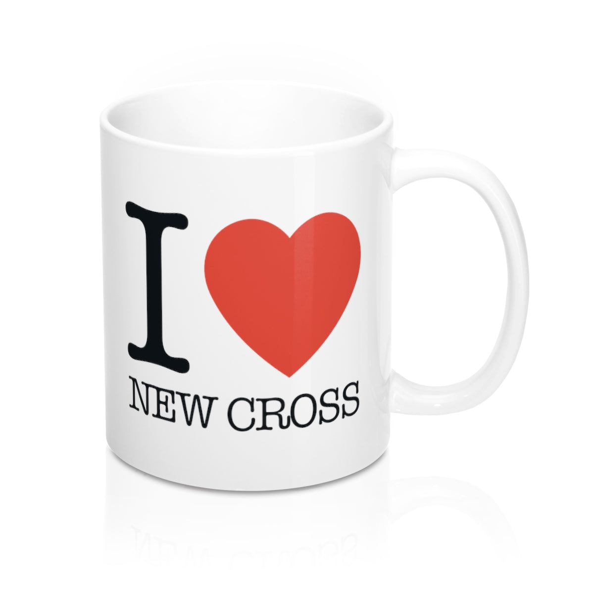 I Heart New Cross Mug