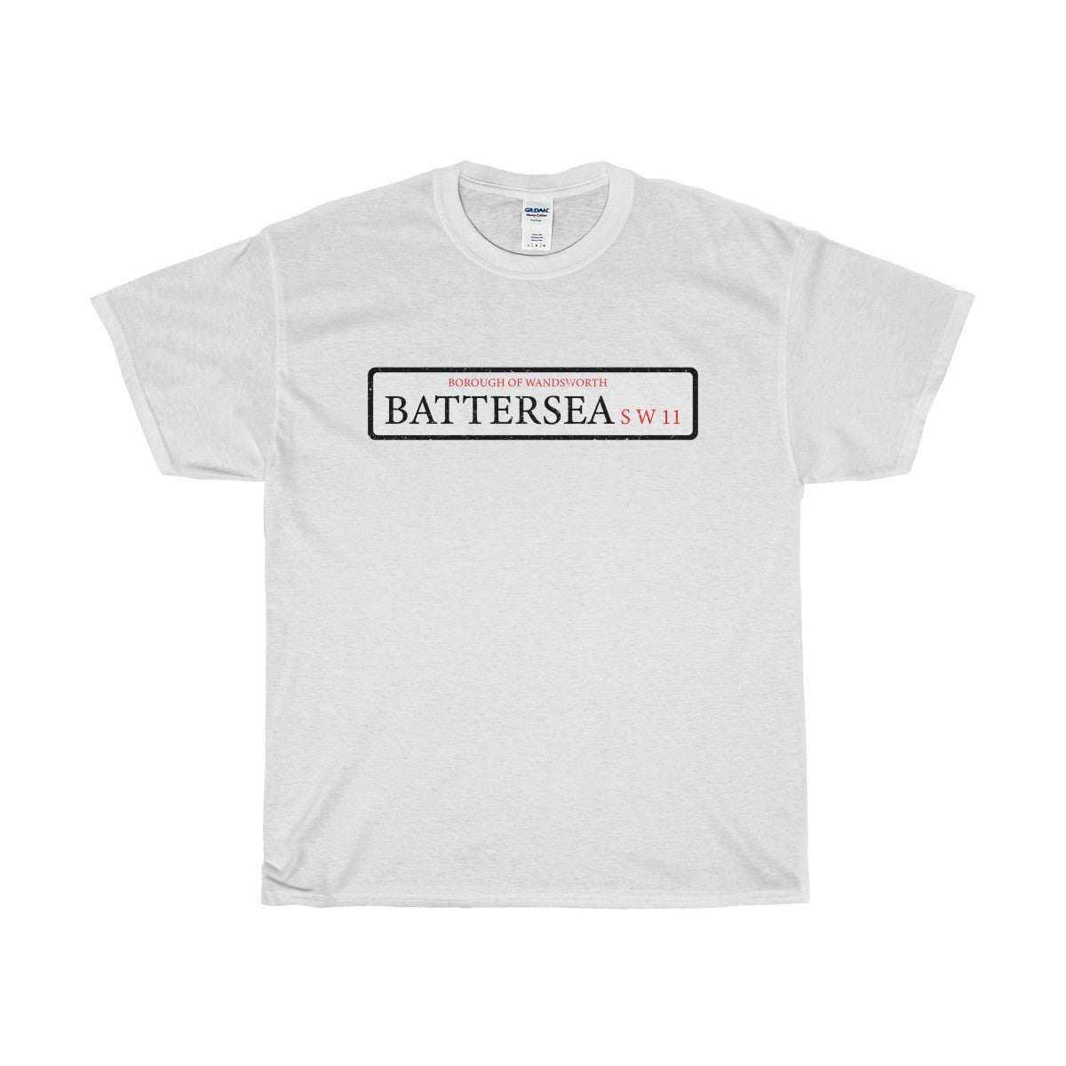 Battersea Road Sign SW11 T-Shirt