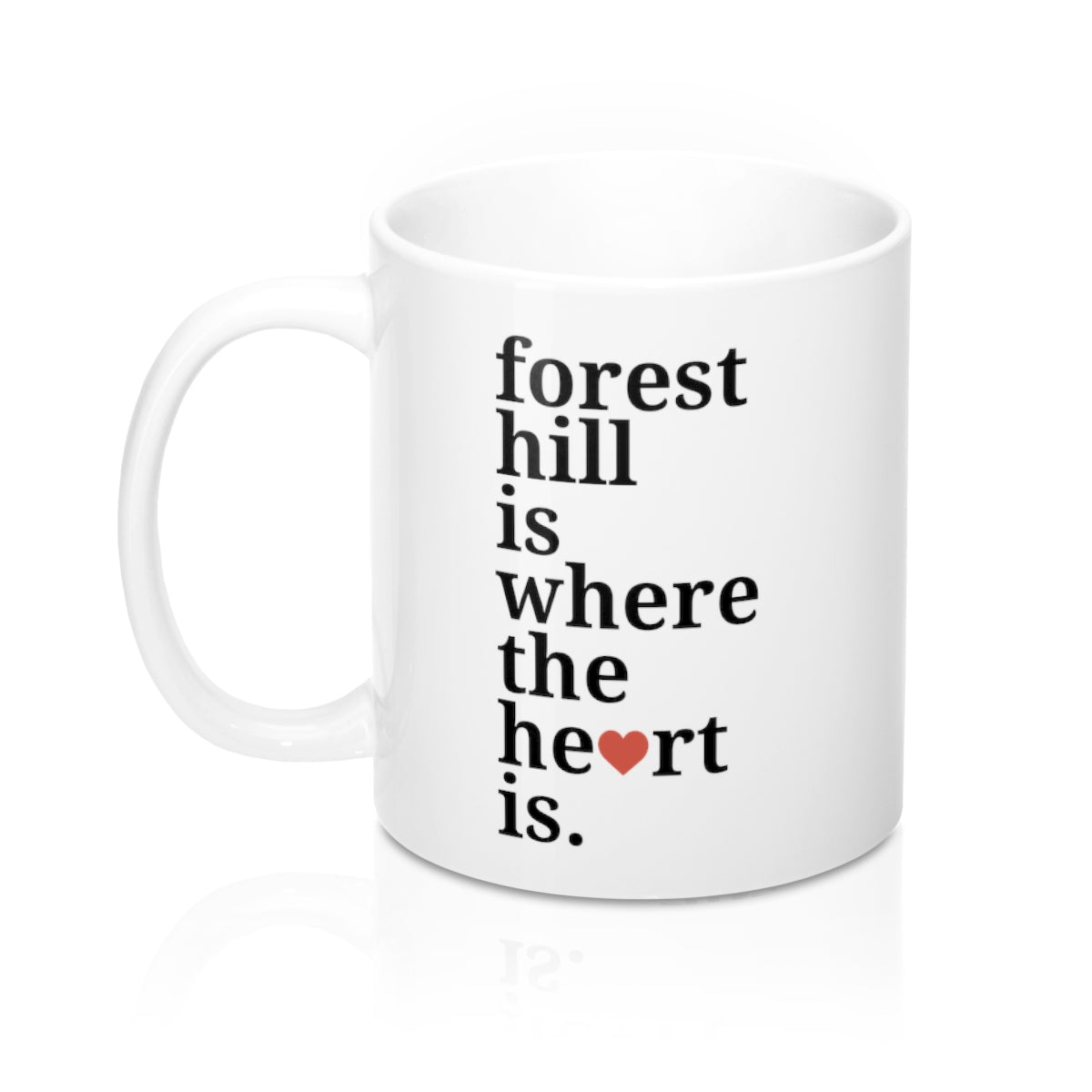 Forest Hill is Where The Heart Is Mug