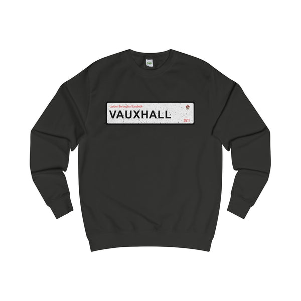 Vauxhall Road Sign SE11 Sweater