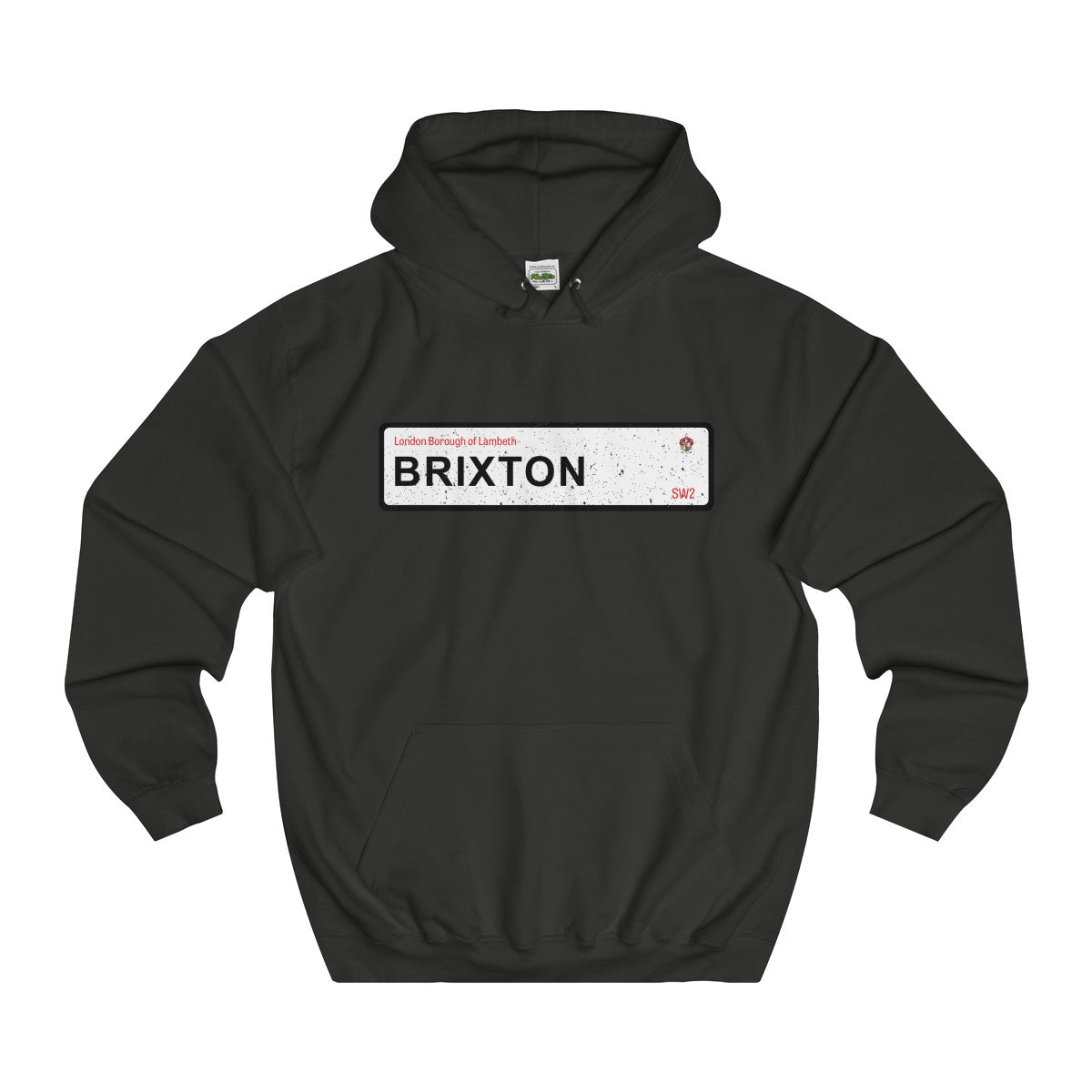 Brixton Road Sign SW2 Hoodie