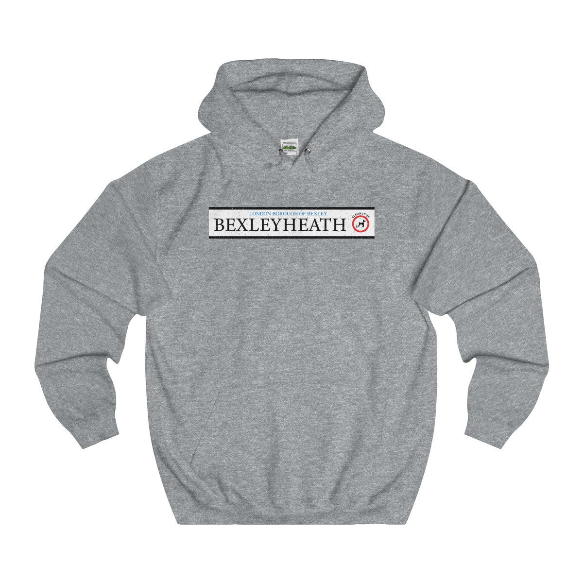 Bexleyheath Road Sign Hoodie