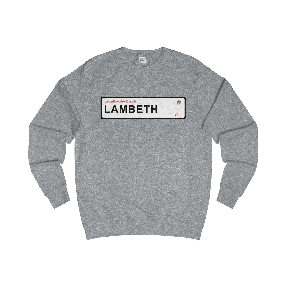 Lambeth Road Sign SE1 Sweater