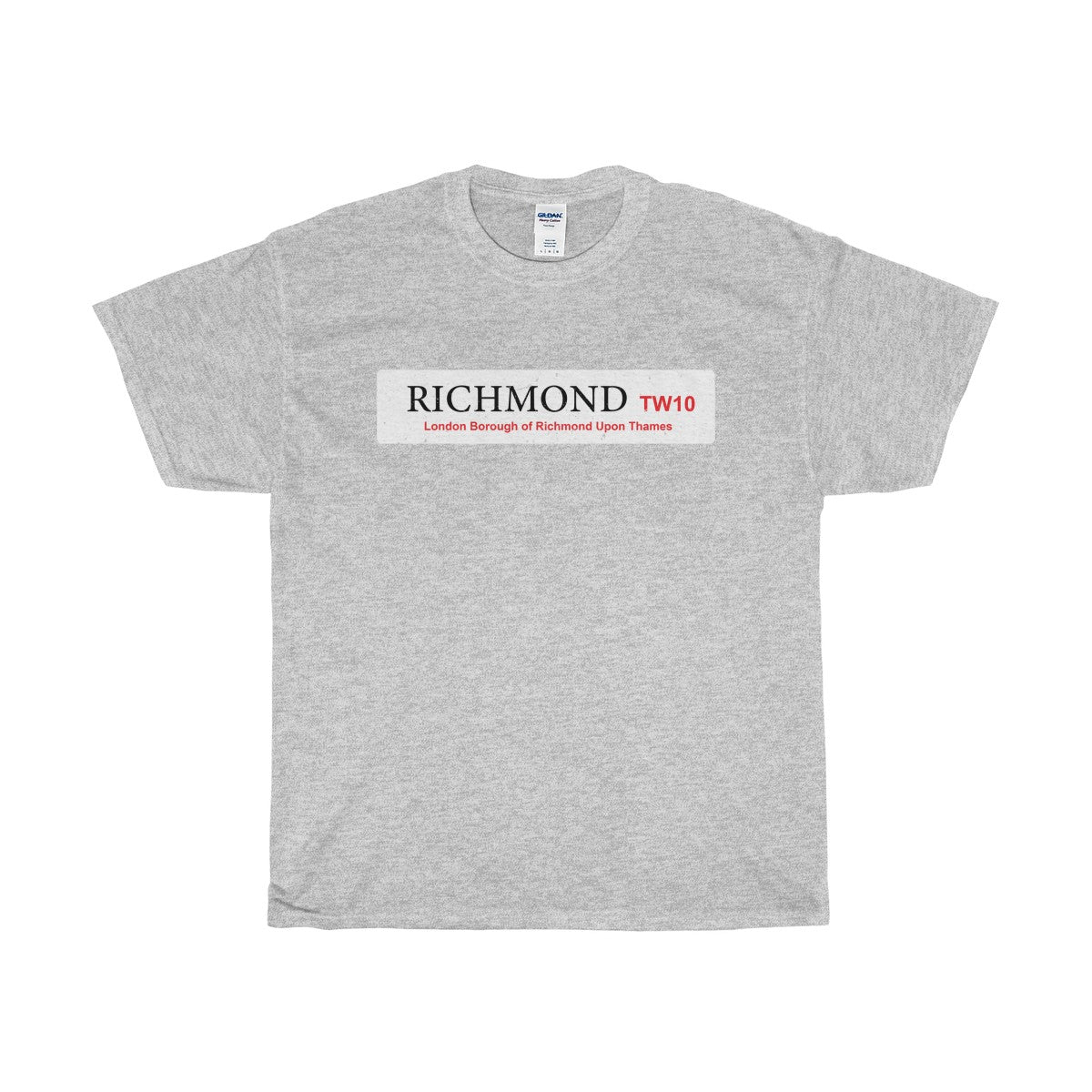 Richmond Road Sign TW10 T-Shirt