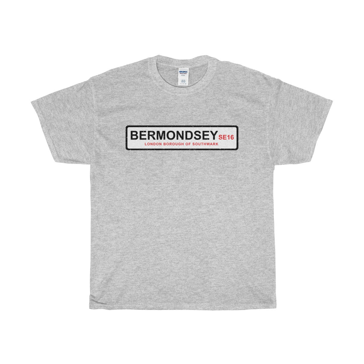 Bermondsey Road Sign SE16 T-Shirt