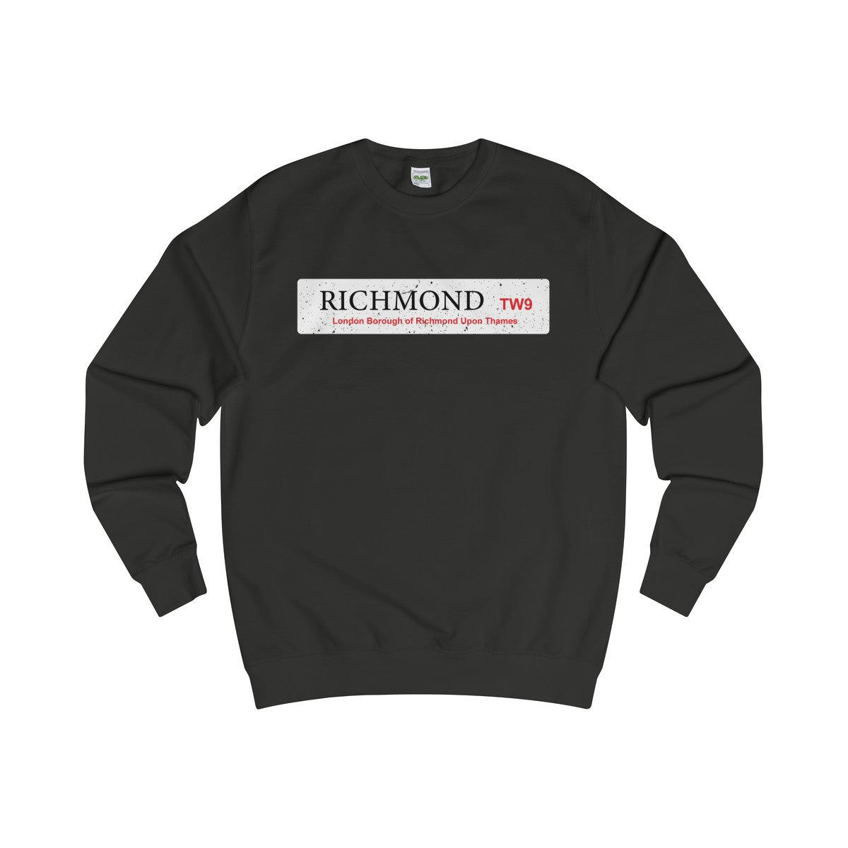 Richmond Road Sign TW10 Sweater