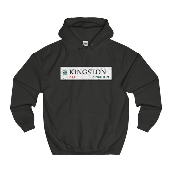 Kingston Road Sign KT1 Hoodie