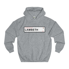 Lambeth Road Sign SE1 Hoodie