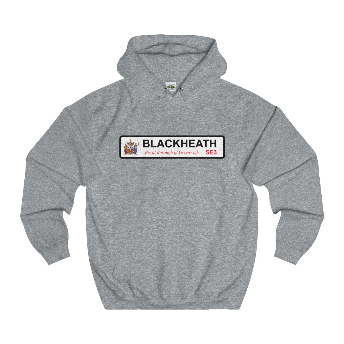 Blackheath Road Sign SE3 Hoodie