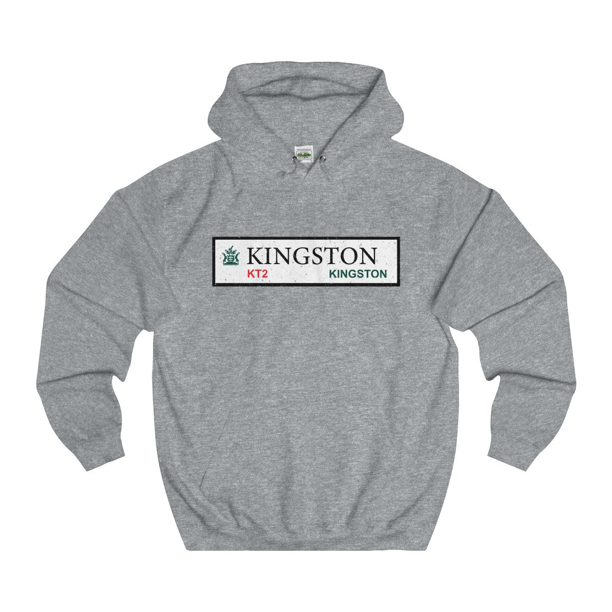 Kingston Road Sign KT2 Hoodie