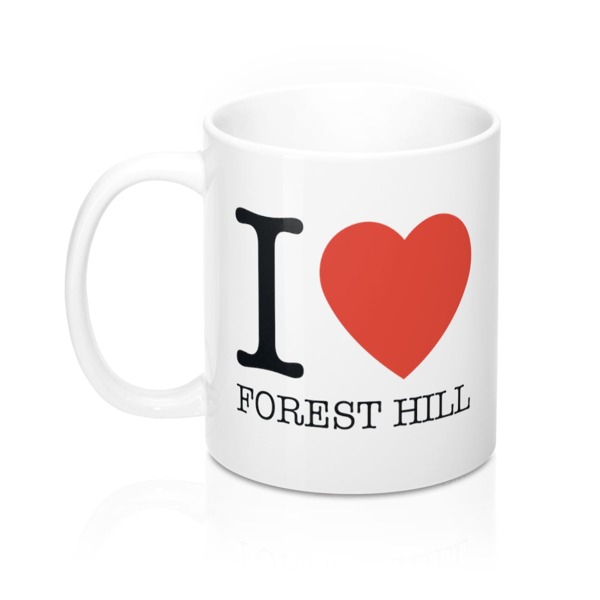 I Heart Forest Hill Mug