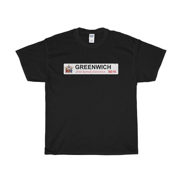 Greenwich Road Sign SE10 T-Shirt