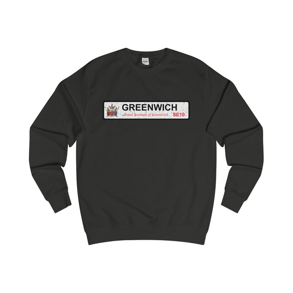 Greenwich Road Sign SE13 Sweater
